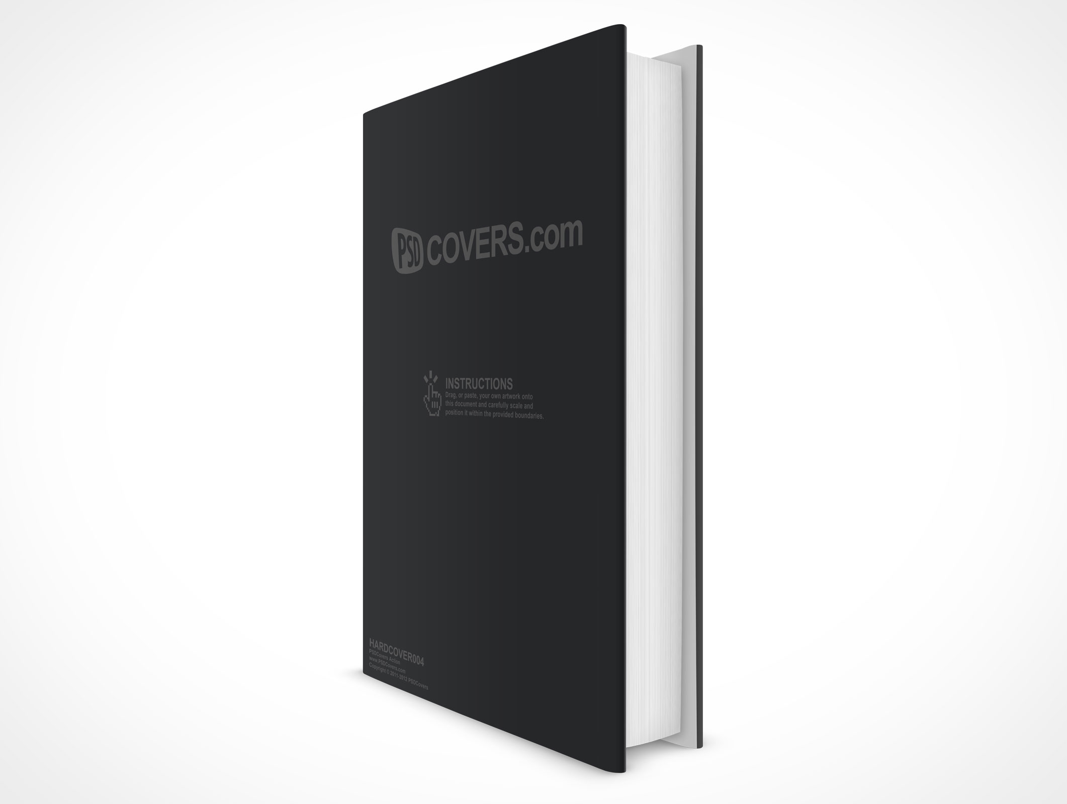 HARDCOVER004 • Market Your PSD Mockups for hardcover