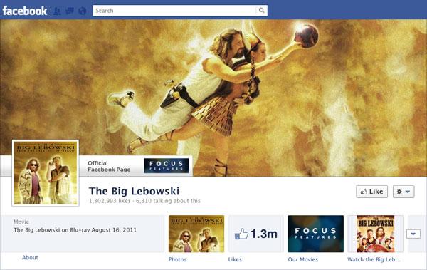 Facebook Brand Timeline Big Lebowski
