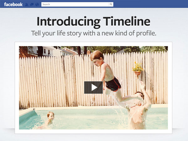 Facebook Timeline Page