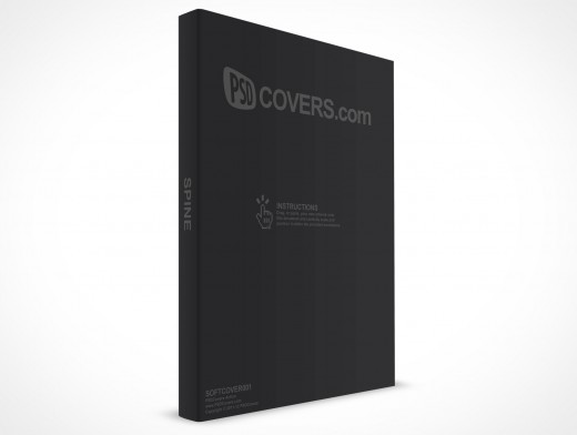 Softcover Handbook Paperback PSD eBook Cover