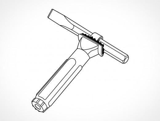Chisel Holder Vector EPS