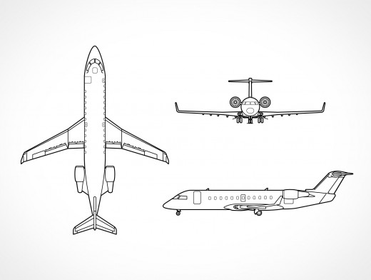 Bombardier RJ200 Vector EPS