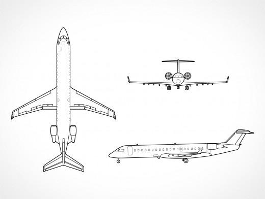 Bombardier RJ700 Vector EPS