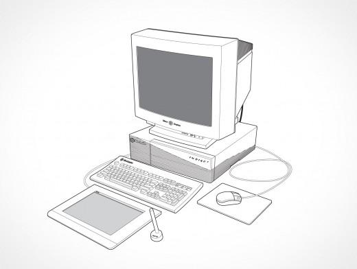 SGI Indigo 2 Workstation Vector EPS