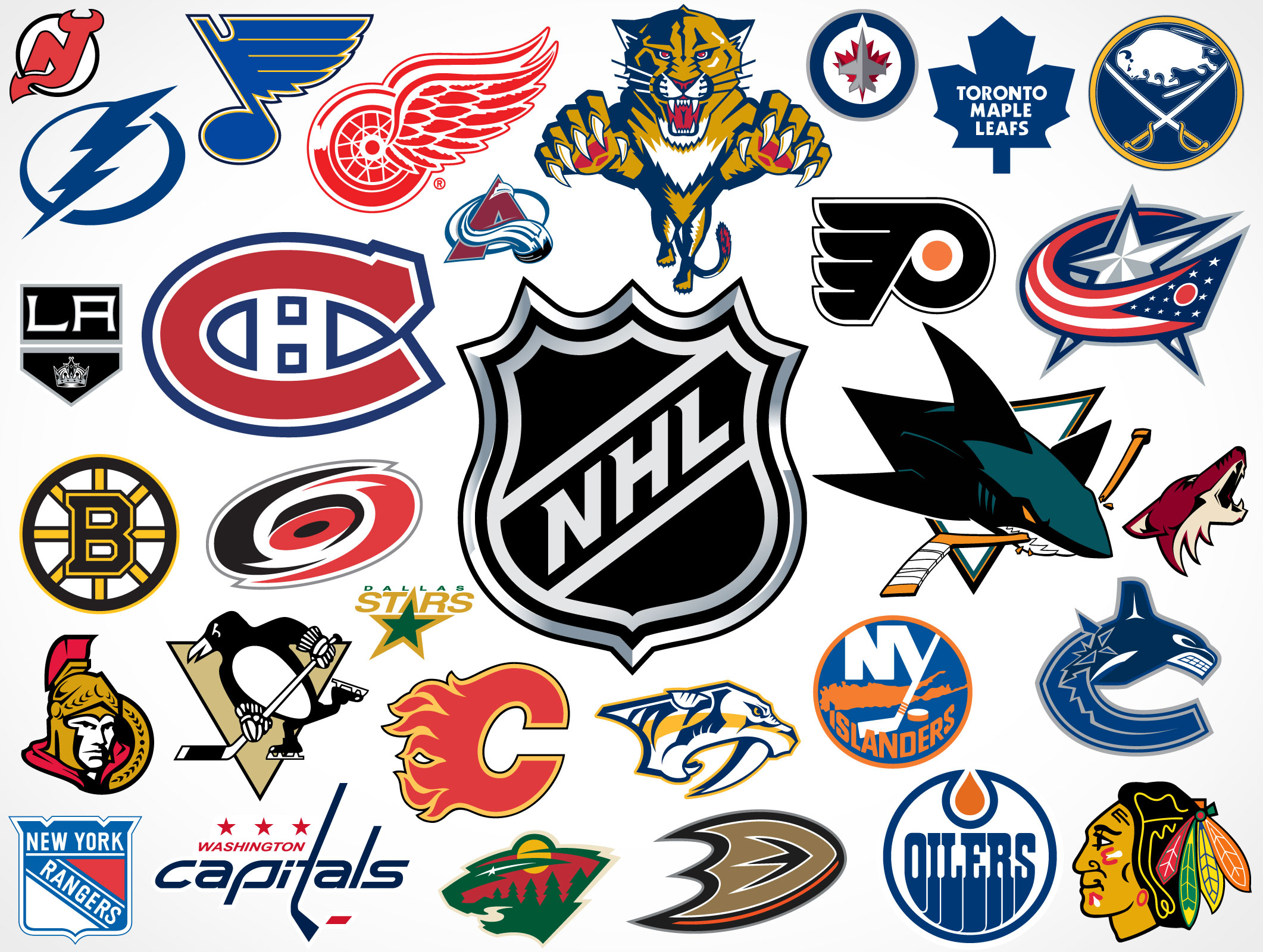 the gallery for gt nhl hockey team logos