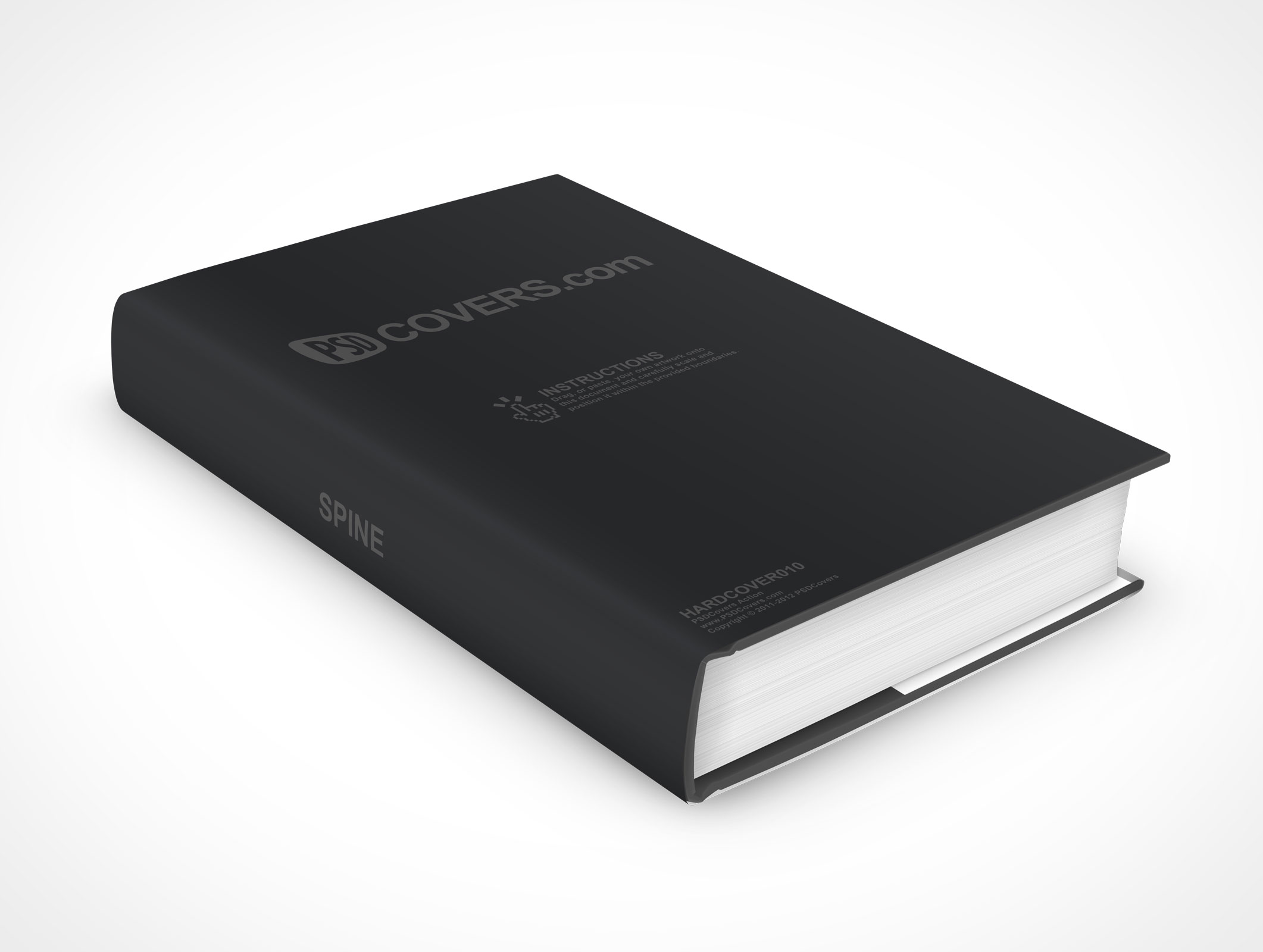 Hardback Book Paper Cover ~ Hardcover market your psd mockups for