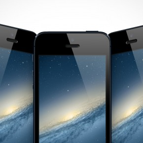 Free iPhone 5 PSD Mockup Cover Action Templates