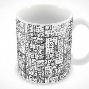PSD Mockup Ceramic Mug Cover Action Template