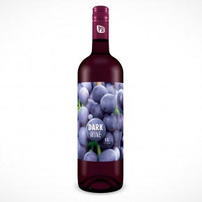 PSD Mockup Red Wine Bottle Cover Action