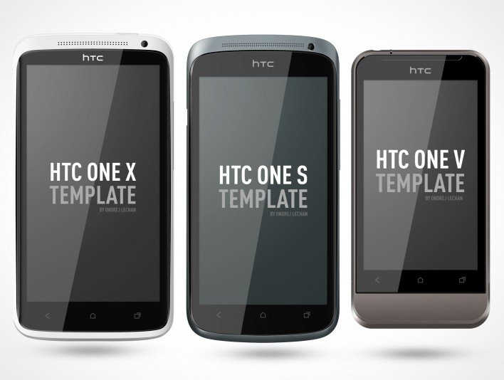psd mockup android htc one portrait template - Mockups For Android