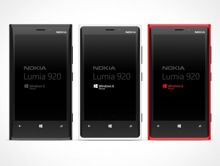 NOKIA Lumina PSD Mockup Template Windows Metro Smartphone