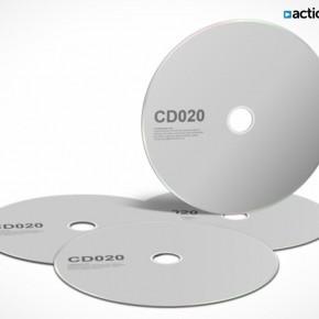 PSD Mockup Template ActionUser CD DVD