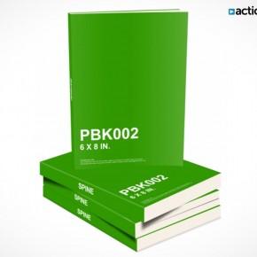 PSD Mockup Template ActionUser Stack eBooks