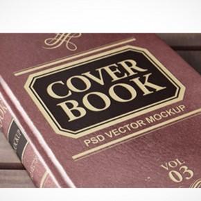 PSD Mockup Template Pixeden Hardcover Paperbook