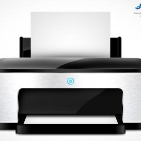 PSD Mockup Template PSDGraphics Printer