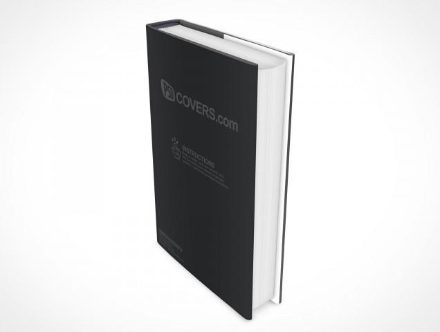 PSD Mockup Hardcover Hardbook Cover Novel