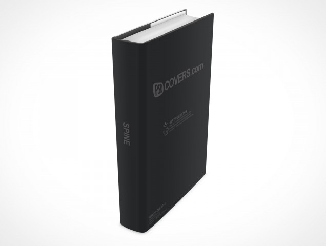 PSD Mockup Hardcover Hardback Cover Novel
