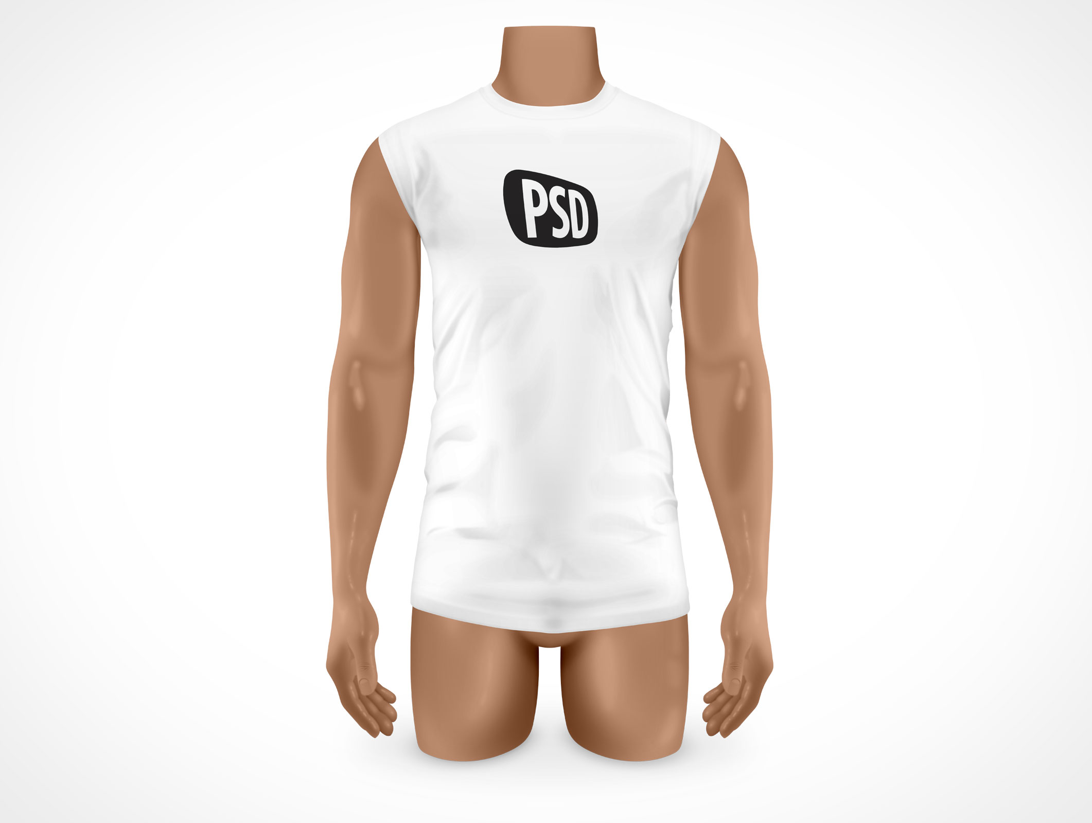 T shirt white mockup - Psd Mock Up T Shirt Mens White Large