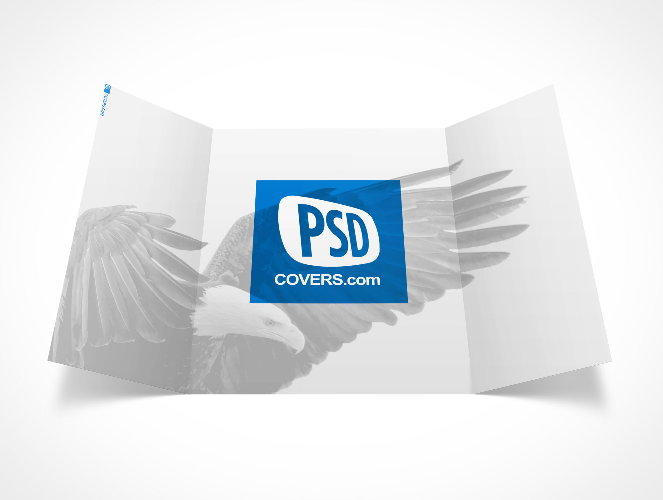 Marvelous PSD Mockup 3 Panel Gate Fold Brochure Flyer Great Pictures