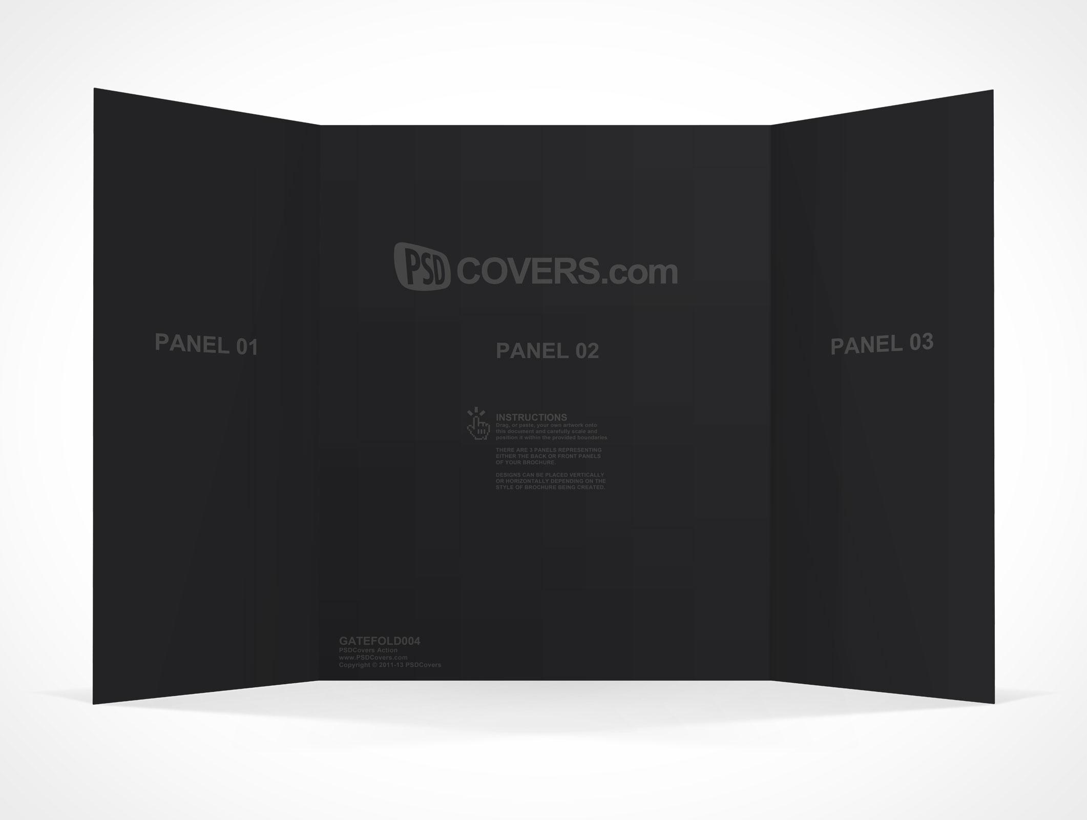 Brochure Archives PSDCovers – Gate Fold Brochure Mockup