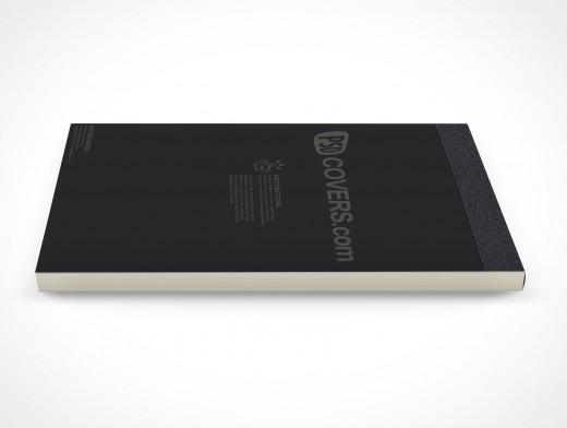 PSD Mockup Notepad Sketch Sales Receipts