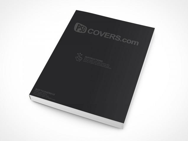 PSD Mockup eBook Softcover Manual