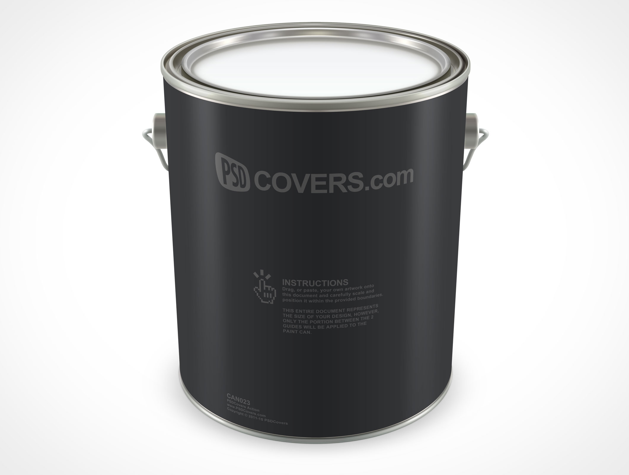 Can023 Market Your Psd Mockups For Paint Can