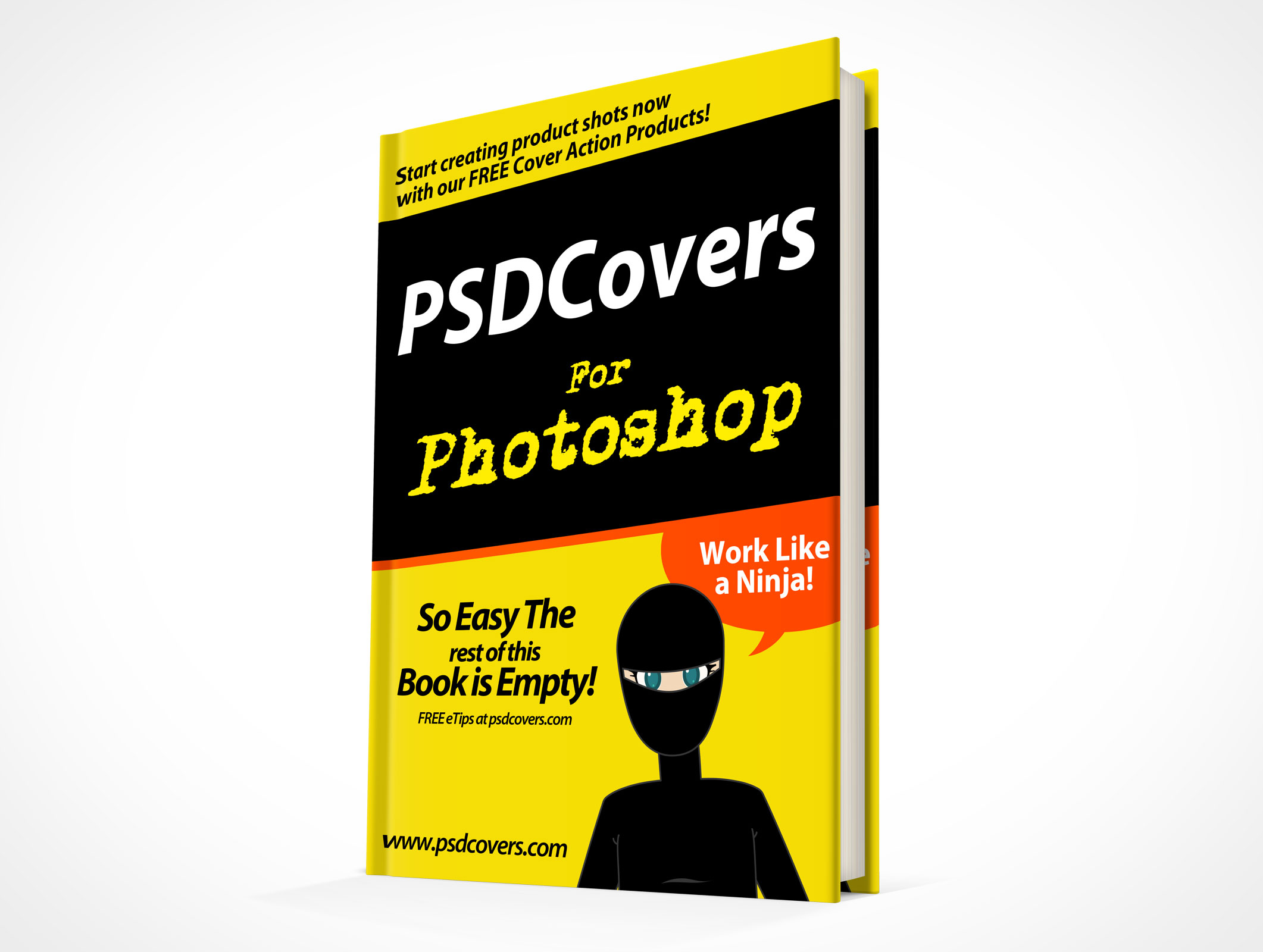 Psdcovers page 5 of 78 photoshop mockups for product for For dummies template book cover