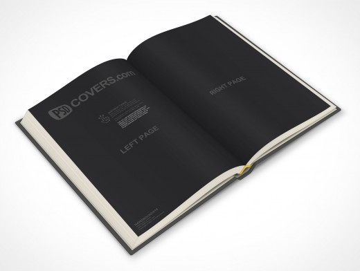 PSDcovers childrens hardbound book angled 45°