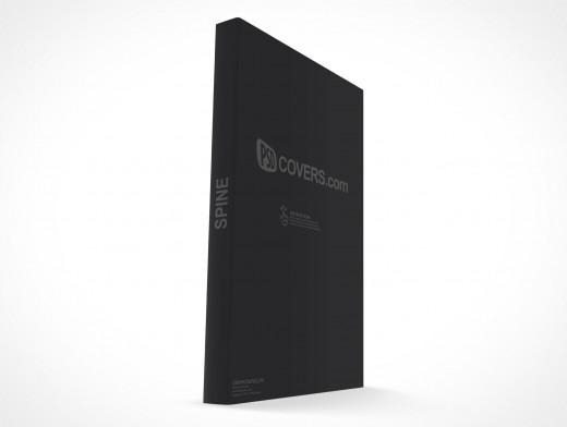 Paperback PSD Mockup C-Format Standing Portrait Mode