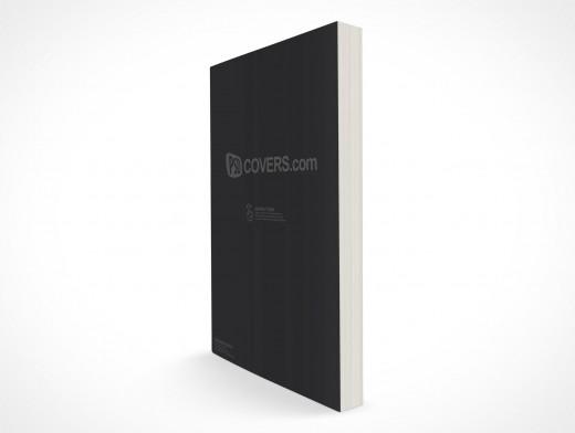 Paperback PSD Mockup C-Format Standing Release