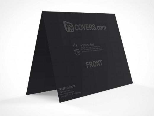 PSDCovers RSVP Card Landscape