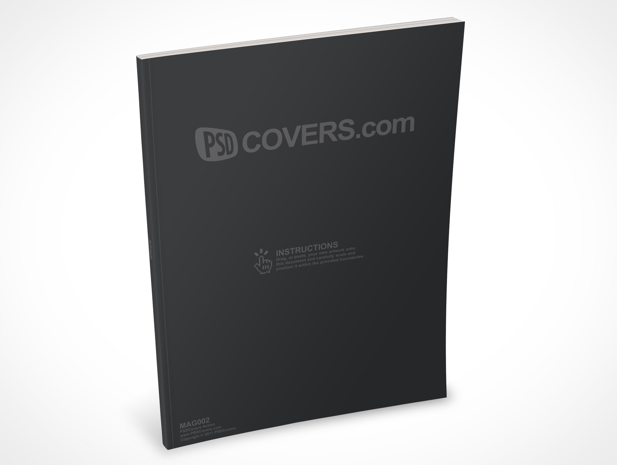 free ebook covers templates - mag002 market your psd mockups for magazine