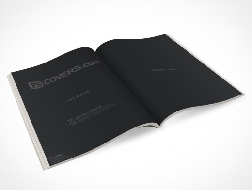 How To Make A Real Book Cover : Mag market your psd mockups for magazine