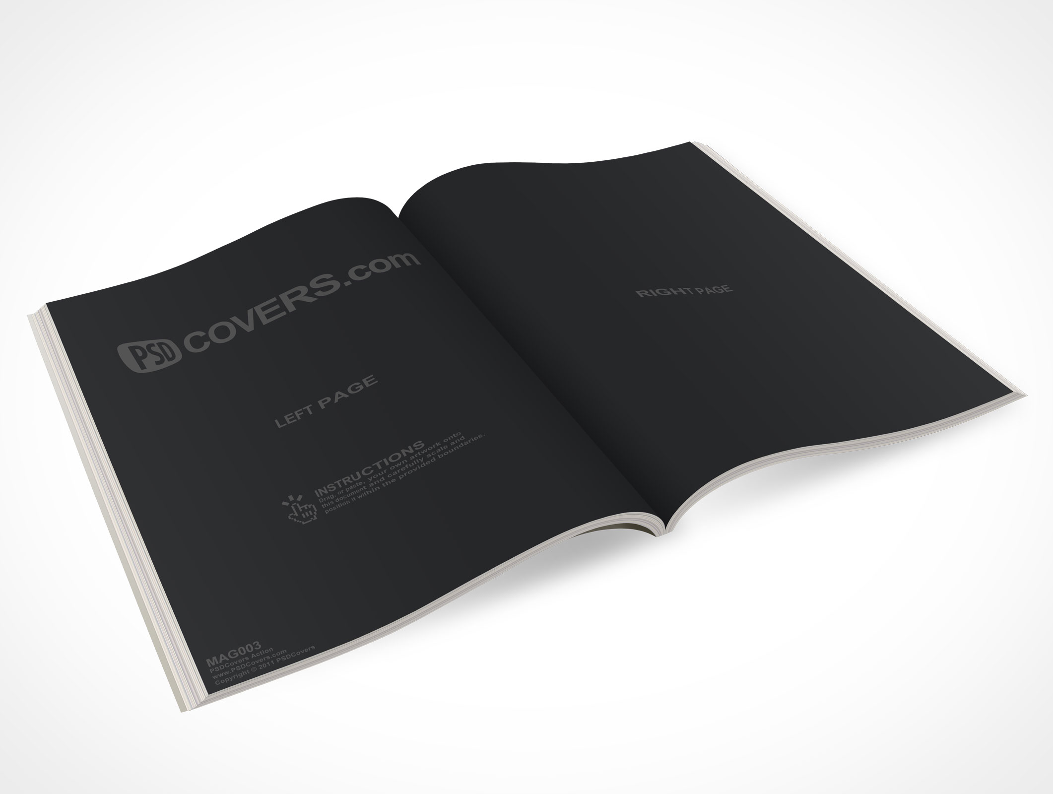 free ebook covers templates - mag003 market your psd mockups for magazine