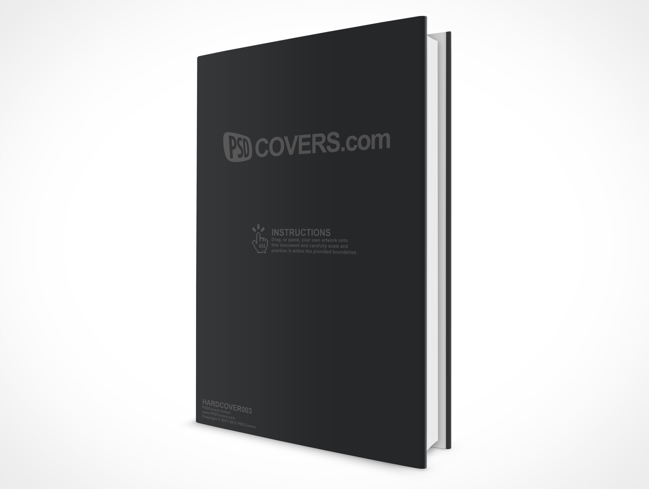 Hard Cover Book And Paper Back ~ Hardcover market your psd mockups for