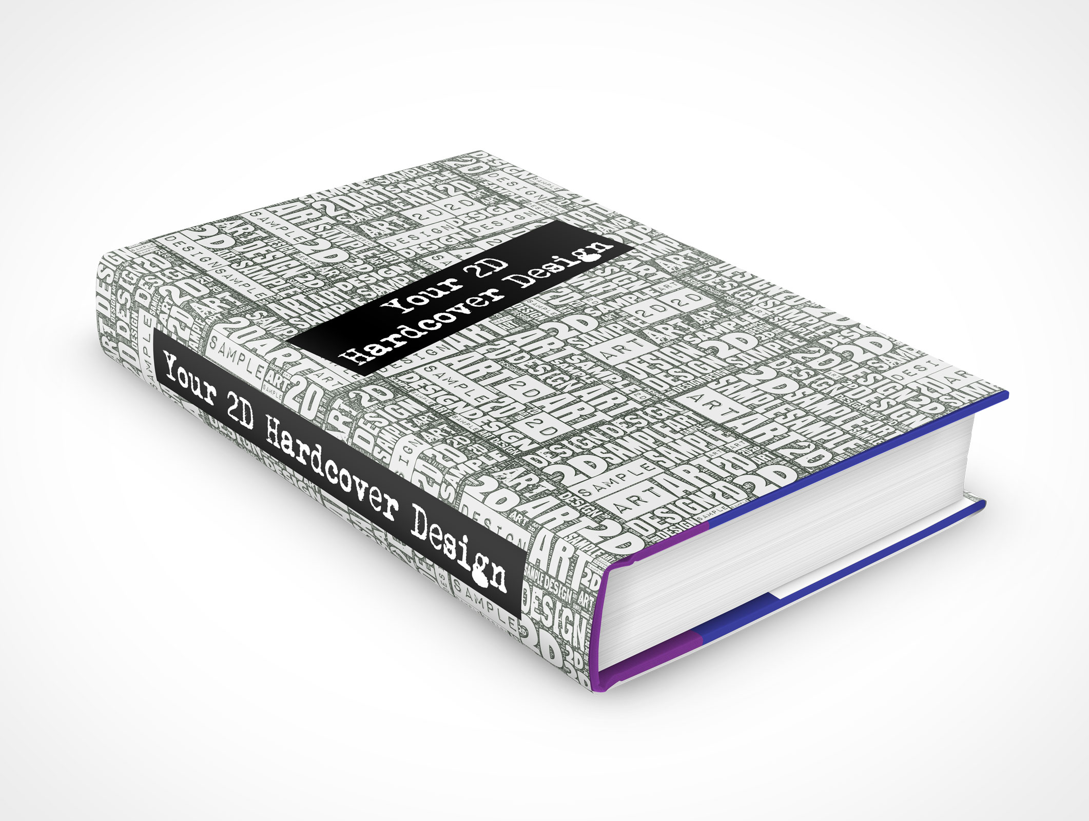 Hardcover Book With Pictures : Hardcover market your psd mockups for