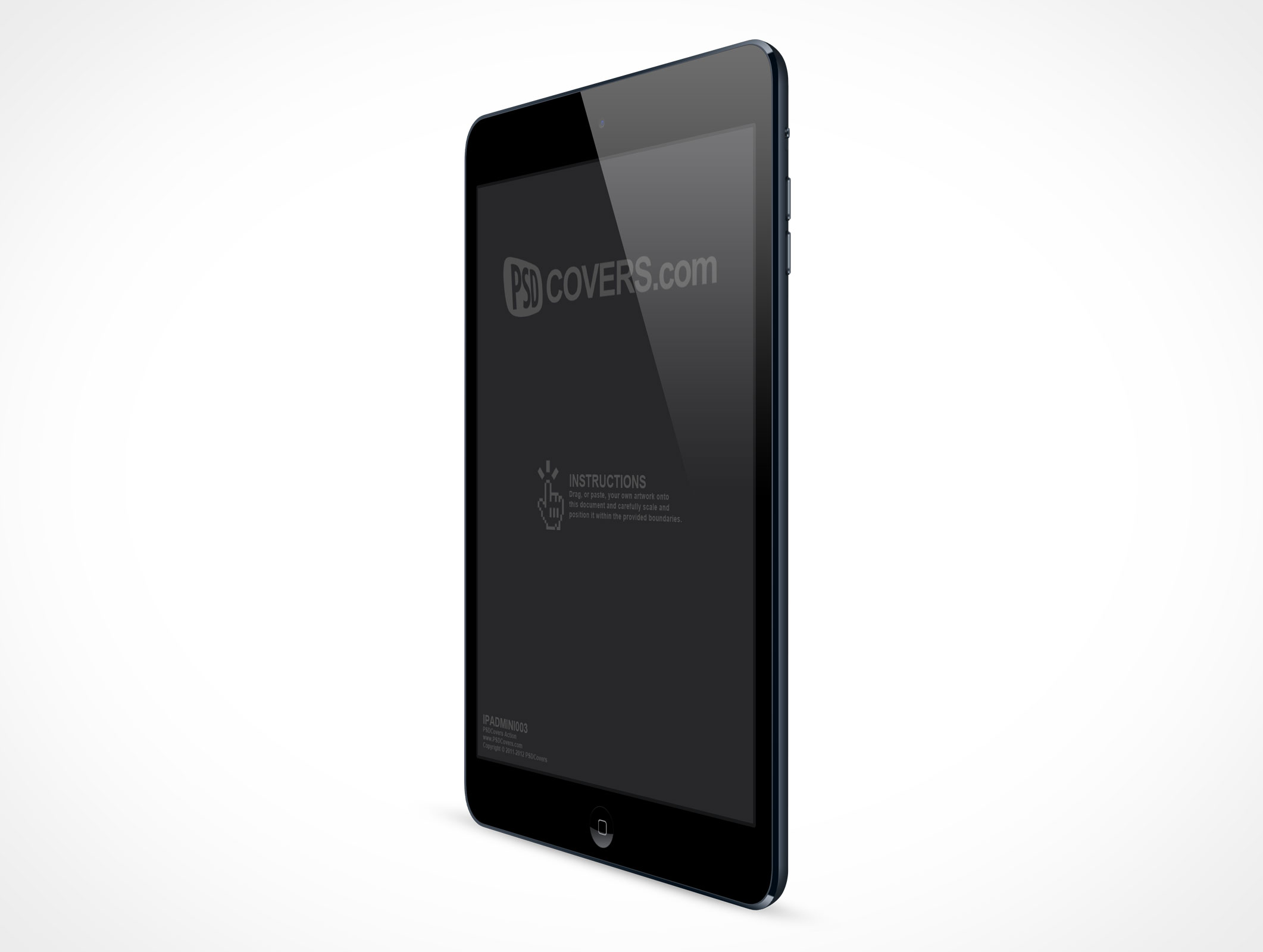 IPADMINI003 • Market Your PSD Mockups for ipad